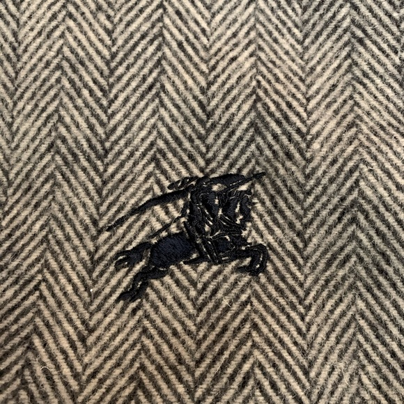 Authentic Burberry Wool Scarf/Shawl